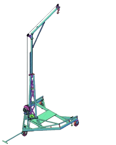 Ejection seat crane