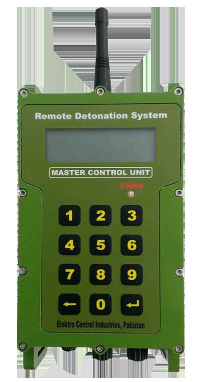 Master control unit for demolitions